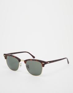 Солнцезащитные очки Клабмастер Ray-Ban - Коричневый