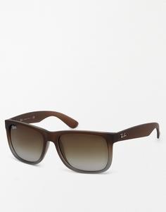 Солнцезащитные очки Ray-Ban Justin 0RB4165 - Коричневый