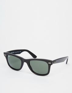 Солнцезащитные очки-вайфареры Ray-Ban 0RB2140 901 47 - Черный