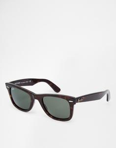 Ray-Ban Wayfarer Sunglasses 0RB2140 902 50 - Коричневый