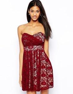 Кружевное платье для выпускного TFNC