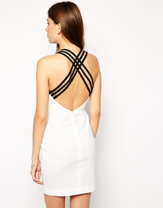 Платье мини AQ AQ