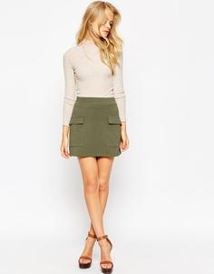 Купить юбку в стиле милитари