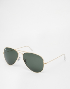 Ray-Ban Aviator Sunglasses 0RB3025 L0205 58 - Золотой