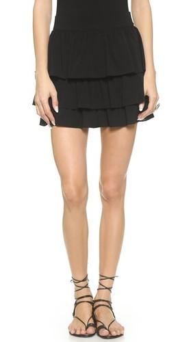 Мини-юбка Reina с многоуровневыми оборками