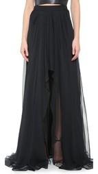 Асимметричная юбка Monique Lhuillier