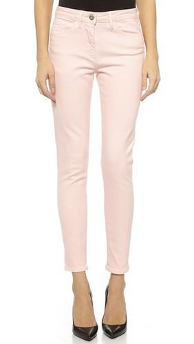 Укороченные джинсы-карандаш W25