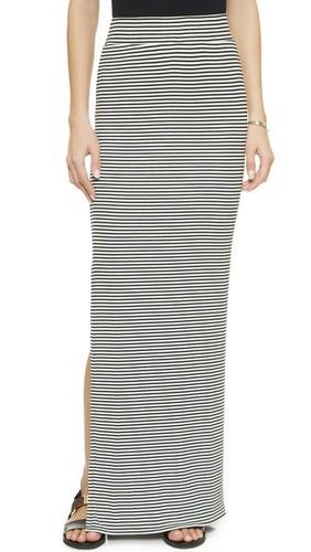 Макси-юбка с разрезом сбоку