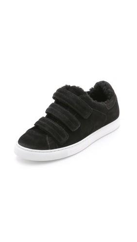 Замшевые кроссовки Nuno
