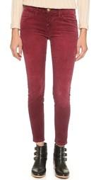 Вельветовые брюки-дудочки Current/Elliott