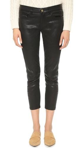 Кожаные брюки Le Garcon