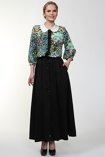 Блуза с топом Malandrino