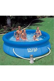 Бассейн с фильтрующим насосом Intex
