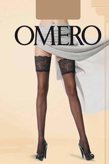 Чулки с эффектом тюля Omero