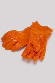 Перчатки для чистки овощей Bradex