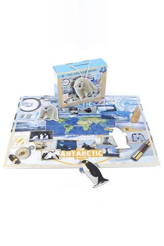 Игра Пазл Арктика и Антарктика