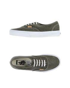 Низкие кеды и кроссовки Vans California