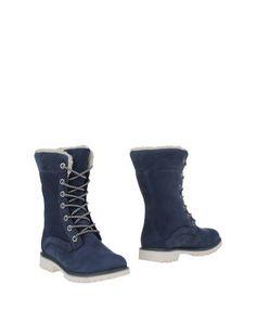 Синие Полусапоги и высокие ботинки Helly Hansen