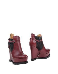 Красные Полусапоги и высокие ботинки Barbara BUI
