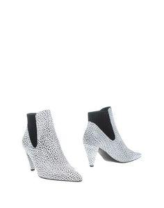 Белые Полусапоги и высокие ботинки Alexander Wang