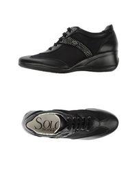 Низкие кеды и кроссовки Solo Soprani