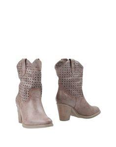 Коричневые Полусапоги и высокие ботинки Francesco Milano
