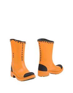 Оранжевые Полусапоги и высокие ботинки Barracuda