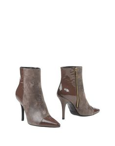 Серые Полусапоги и высокие ботинки Signorine Italiane