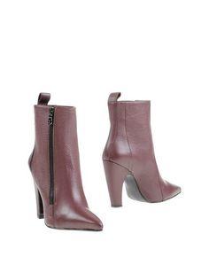 Красные Полусапоги и высокие ботинки WO Milano