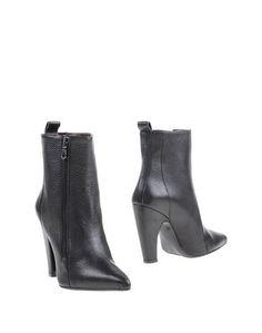 Черные Полусапоги и высокие ботинки WO Milano