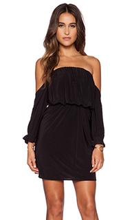 Мини-платье с открытыми плечами - T-Bags LosAngeles
