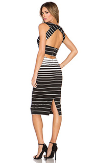 Платье corsica stripe - NICHOLAS