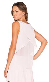 Блуза без рукавов с v-образным вырезом - 1. STATE