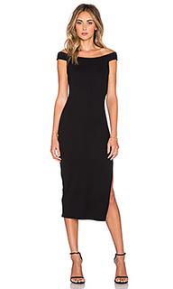 Толстое вязаное в рубчик платье wen - Rachel Pally