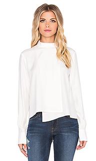 Топ с длинным рукавом le asymmetric shirt - FRAME Denim