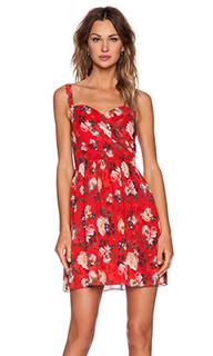 Платье с рисунком из весенних цветов - The Kooples