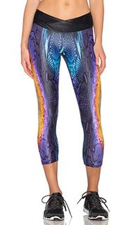 Леггинсы капри sunburst endurance - koral activewear