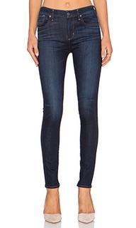 Облегающие джинсы с высокой посадкой sophie - A Gold E