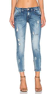Укороченные джинсы freebird ii - One Teaspoon