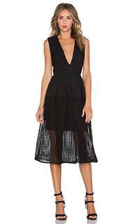 Бальное платье с  v-образным вырезом - NICHOLAS