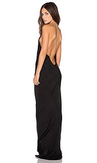 Платье с длинным вырезом - TITANIA INGLIS