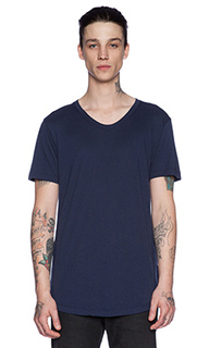 Простая футболка curve u-neck - John Elliott + Co