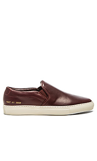 Слипоны leather - Common Projects