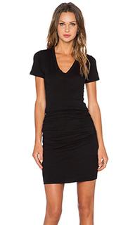 Платье с вырезом v permanent collection - MONROW