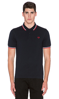 Тенниска slim fit twin tipped - Fred Perry