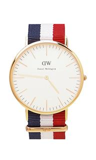 Часы cambridge с циферблатом в 40 мм - Daniel Wellington
