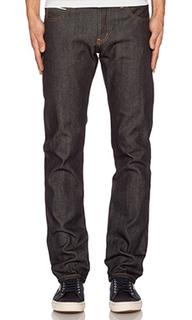 Супер облегающие брюки guy in left hand selvedge 13.75 oz из твила - Naked & Famous Denim