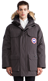 Expedition parka with coyote fur collar - Canada Goose