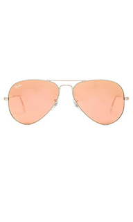 Солнцезащитные очки aviator flash lenses - Ray-Ban