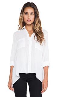 Рубашка асимметричный подол - Enza Costa